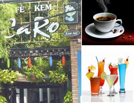 Cafe Caro đường Bạch Đằng