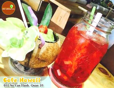 Cafe Hawaii - phong cách Hawaii tại Sài Gòn