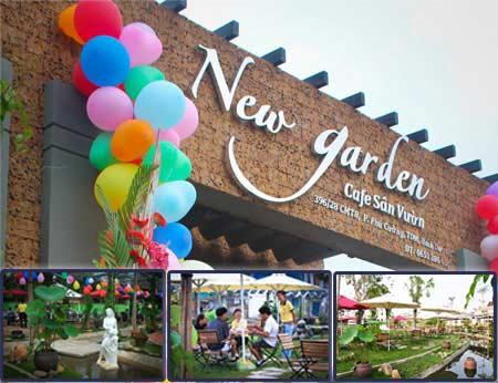 New Garden Coffee - quán cafe sân vườn tuyệt đẹp tại Bình Dương