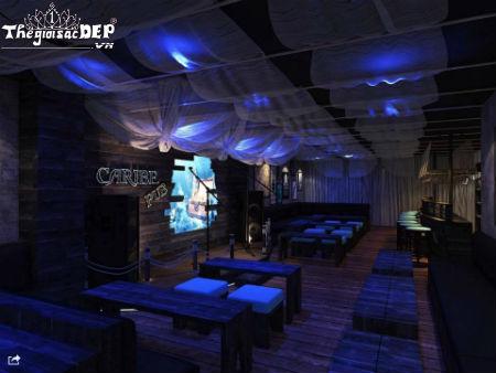 quán cà phê Shisha độc lạ ở Phú Nhuận - Caribe Coffee & Pub