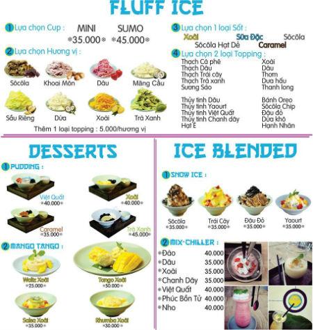 Địa chỉ quán kem Nhật Bản ở Tân Bình - Fuji Snow TD