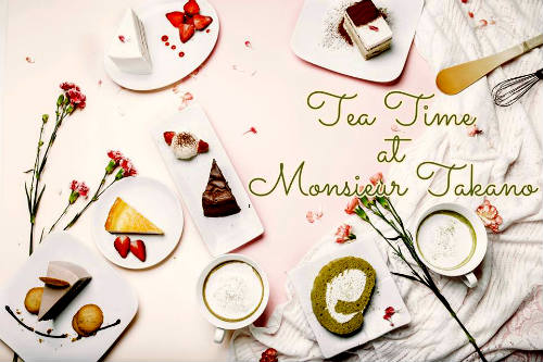 Monsieur Takano Tea and Cake - quán bánh ngọt nhật bản ngon ở Sài Gòn