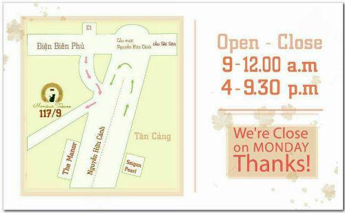 Monsieur Takano Tea and Cake - Địa chỉ quán bánh ngọt nhật bản ngon ở Sài Gòn