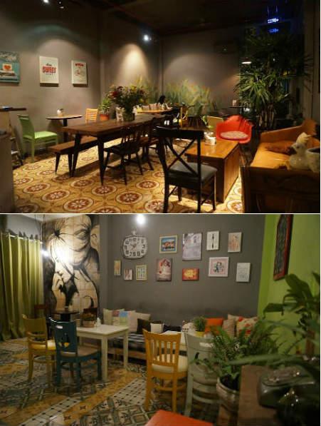 Cafe Con Hẻm Nhỏ - quán cafe không gian độc đáo quận 3