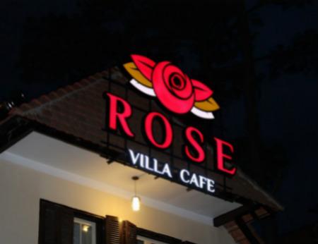 Rose Villa Cafe - Không gian cafe sang trọng tại Đà Lạt