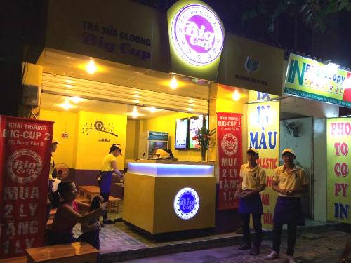 Trà sữa Big Cup - Trà sữa ngon an toàn ở Sài Gòn