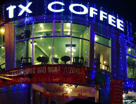 TX Coffee - `điểm đến lý tưởng của bạn trẻ`