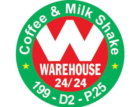 """Warehouse Coffee & Milk Shake - """"Quán Cafe không ngủ"""" ở Sài Gòn"""