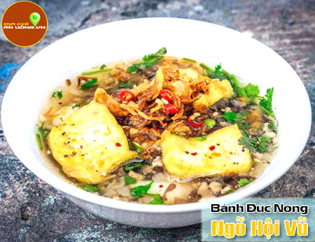 Bánh đúc nóng - Góc ẩm thực Hà Nội ở Quận 1