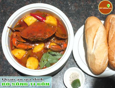 Bờ Sông Ti Gôn - Không gian ẩm thực hấp dẫn ven sông
