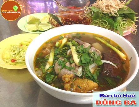 Bún Bò Huế Đông Ba - Đậm đà hương vị Huế
