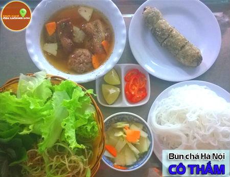 Bún chả Hà Nội Cô Thắm - Hương vị quê nhà xứ Bắc