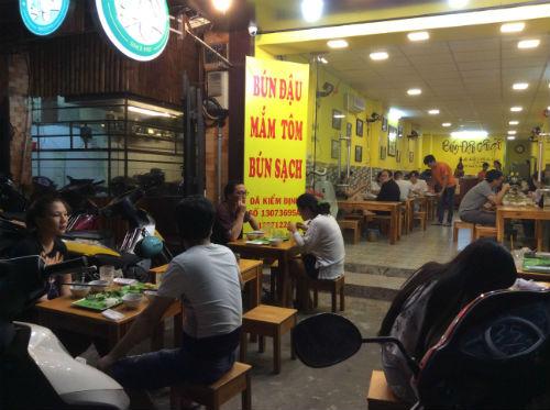 Bún Đậu Cầu Gỗ – Quán bún đậu mắm tôm sạch ở quận 1 - diachianuong.vn 4