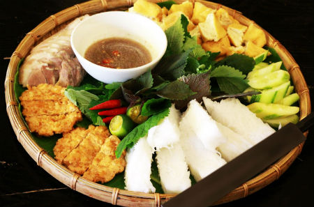 Bún đậu Mập – Bún đậu mắm tôm ngon ở Phú Nhuận
