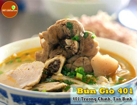 Bún Giò 401 - Bún giò ngon ở Tân Bình