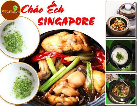 Cháo Ếch Singapore Lion - Cháo ếch ngon tại quận 7