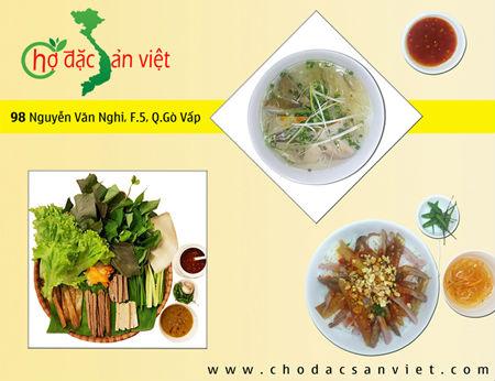 Chợ đặc sản Việt - Đặc sản Nha Trang ở Sài Gòn