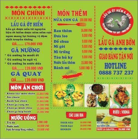 Lẩu gà ớt hiểm Anh Bờm - Quán lẩu ngon nổi tiếng quận Tân Bình