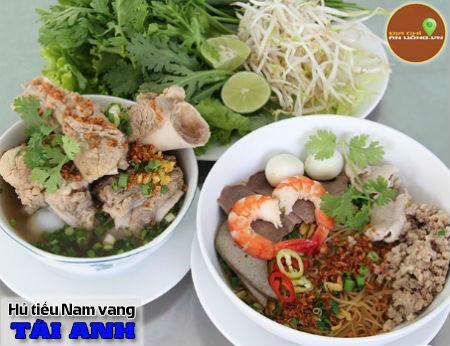 Hủ tiếu nam vang Tài Anh - Hủ tiếu Sài Gòn ngon, chất lượng