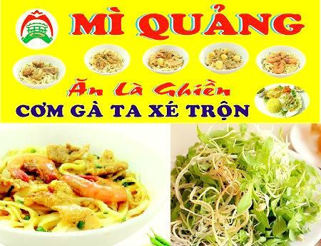 Mì quảng Ăn Là Ghiền - Điểm thưởng thức mì Quảng đúng vị Miền Trung!