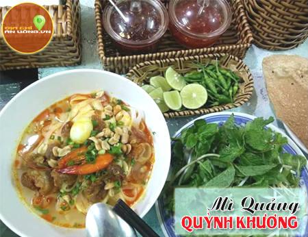 Mì Quảng Quỳnh Khương - thơm ngon đậm chất Quảng