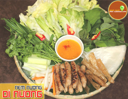 Nem Nướng Dì Nương - Hương vị đặc sản Nha Trang