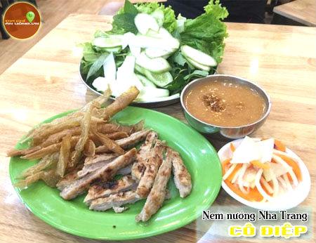 Nem nướng Nha Trang Cô Điệp - Đặc sản Nha Trang tại Sài Gòn