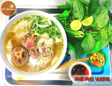 Phở Phú Vương - Nức danh phở phong vị Sài Gòn