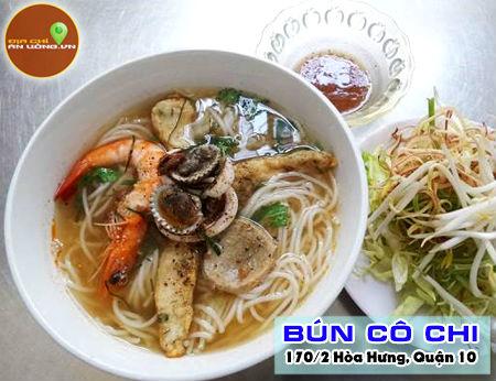 Bún Cô Chi - Bún Hà Nội ngon ở Sài Gòn