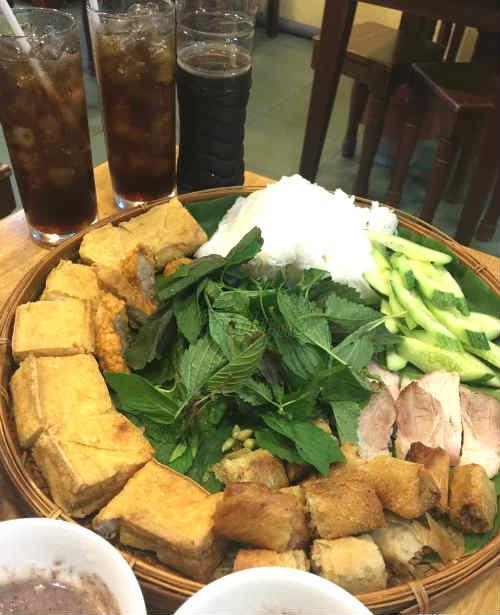 Bún đậu Rồng Đất - Quán bún đậu mắm tôm ngon ở Phú Nhuận