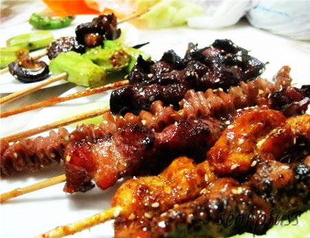 Xiên nướng đồng giá 433 - Quán xiên nướng ngon đường Nguyễn Kiệm